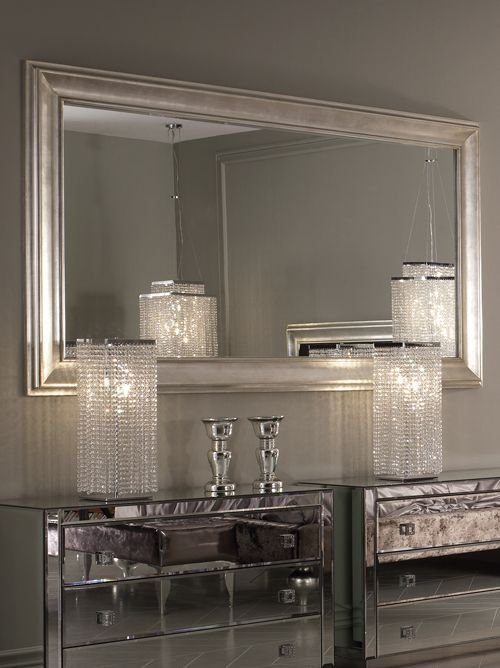 Best Large Champagne Leaf Wall Mirror Luxury Furniture With Pictures