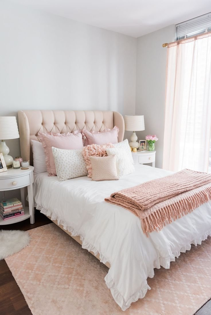 Best 25 Pink Gold Bedroom Ideas On Pinterest Chic With Pictures