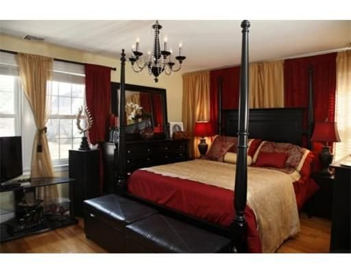 Best 25 Red Black Bedrooms Ideas On Pinterest Red Bedroom Decor Living Room Ideas Red And With Pictures