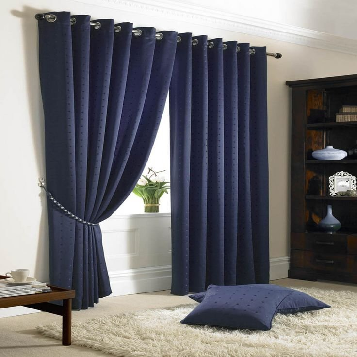 Best 25 Navy Blue Curtains Ideas On Pinterest Blue With Pictures