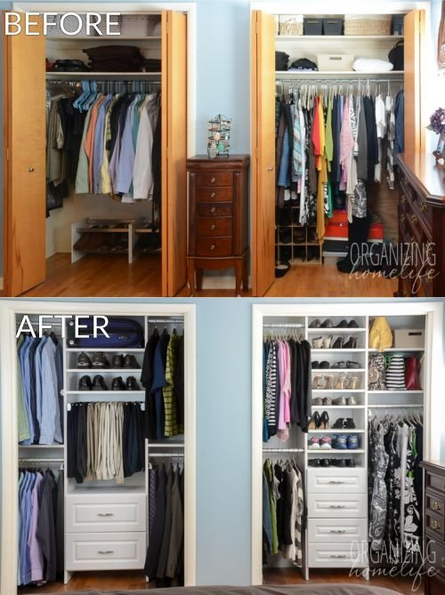 Best 1 000 Easyclosets Organized Closet Giveaway Organizing Closets Master Bedroom Closet With Pictures