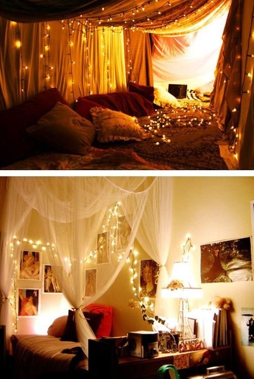 Best 25 Christmas Lights Bedroom Ideas On Pinterest With Pictures