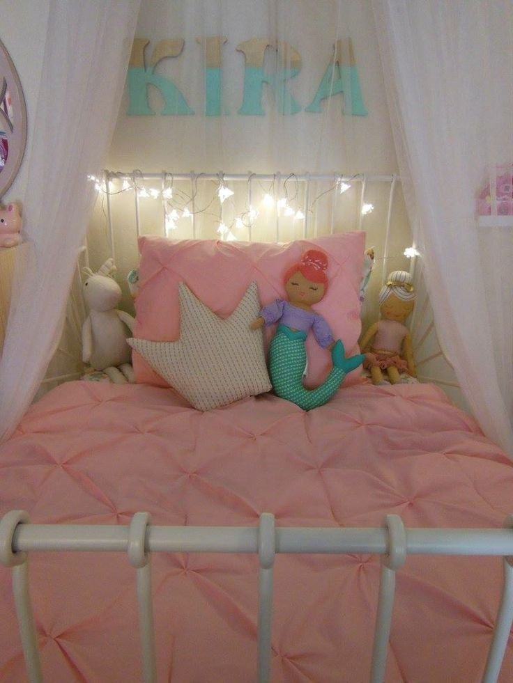 Best Toddler Girl Be With Ikea Bed Frame And Target Bedding With Pictures