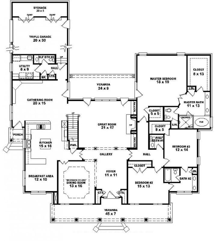 Best 653903 1 5 Story 5 Bedroom 4 Full Baths 2 Half Baths With Pictures