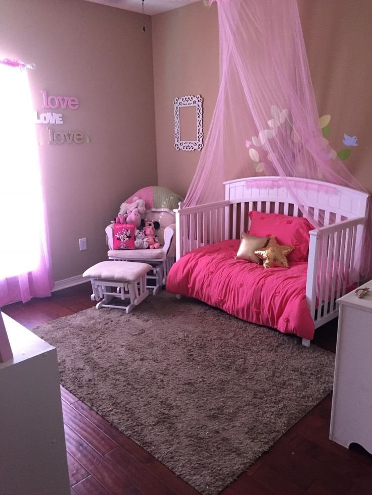 Best Princess Bedroom Toddler Girls Bedroom Diy Pink Love Www Ontheatrain Com Twins Toddler With Pictures