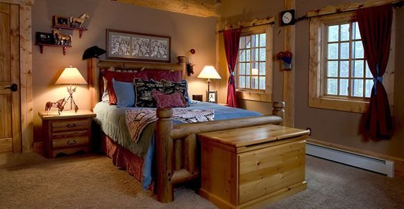 Best Log Home Western Bedroom A Western Themed Little Girls With Pictures