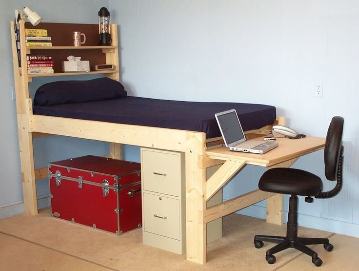 Best Shown With The Short Desk At The End Of The Bed High With Pictures