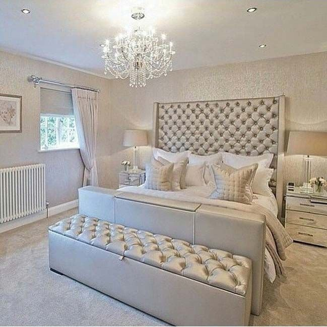 Best 15 Glamour Silver Bedroom Designs Home Decor Silver With Pictures