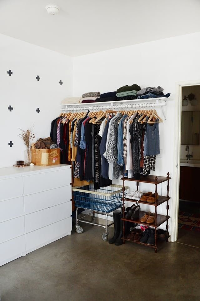 Best 25 No Closet Solutions Ideas On Pinterest Diy With Pictures