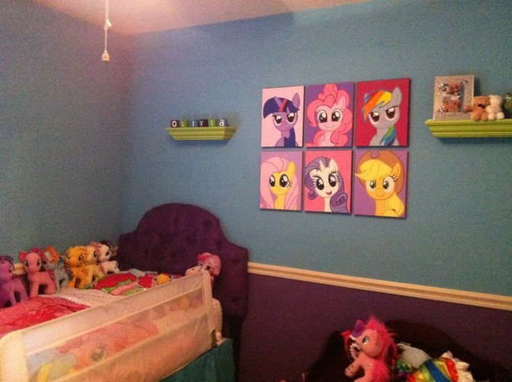 Best 14 Best Room Ideas For My Little Pony Fans Images On With Pictures