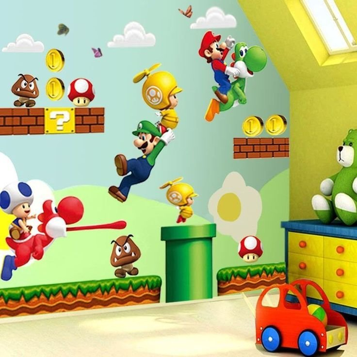 Best 25 Super Mario Room Ideas On Pinterest Mario Room With Pictures