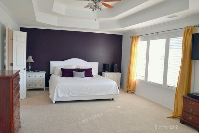 Best 20 Beautiful Purple Accent Wall Ideas Bedroom Design With Pictures