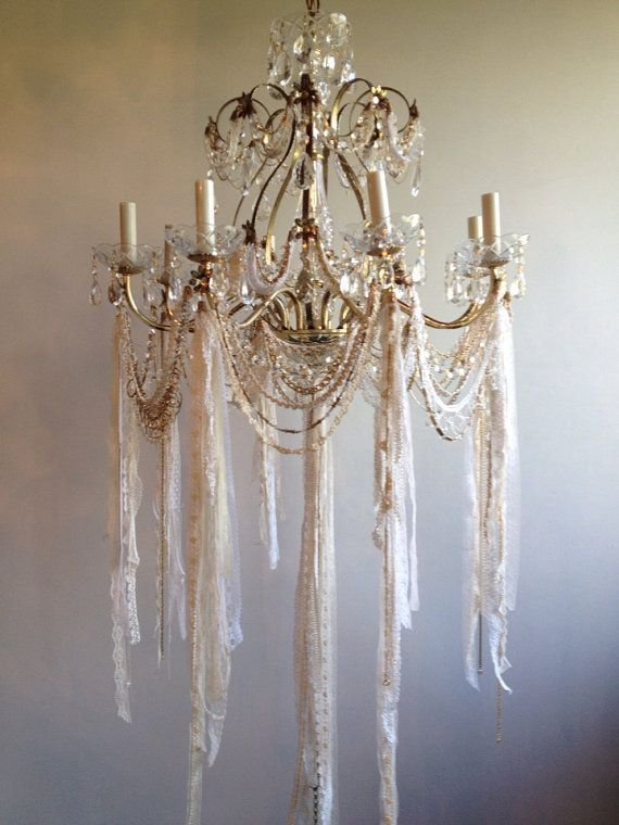Best 25 Shabby Chic Chandelier Ideas On Pinterest With Pictures