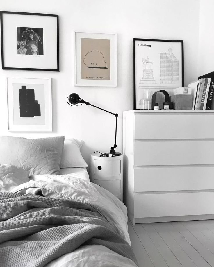 Best 25 White Grey Bedrooms Ideas On Pinterest Bedroom With Pictures