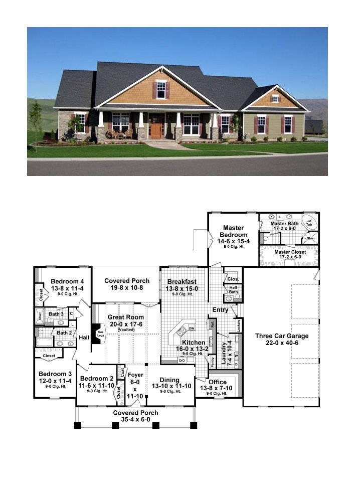 Best 25 4 Bedroom House Plans Ideas On Pinterest House With Pictures