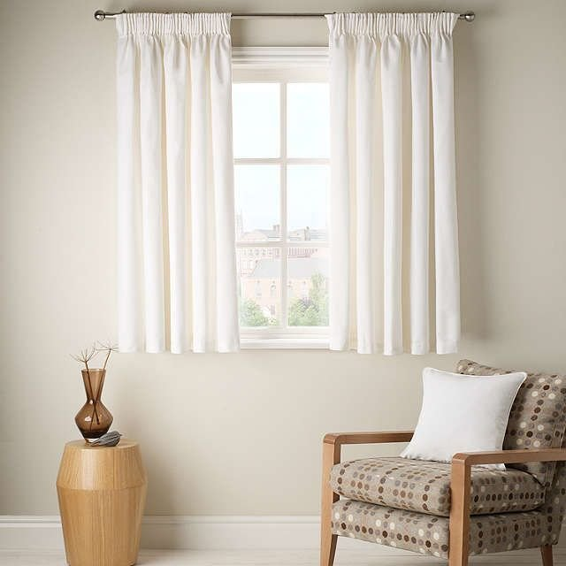 Best Buyjohn Lewis Cotton Rib Lined Pencil Pleat Curtains With Pictures