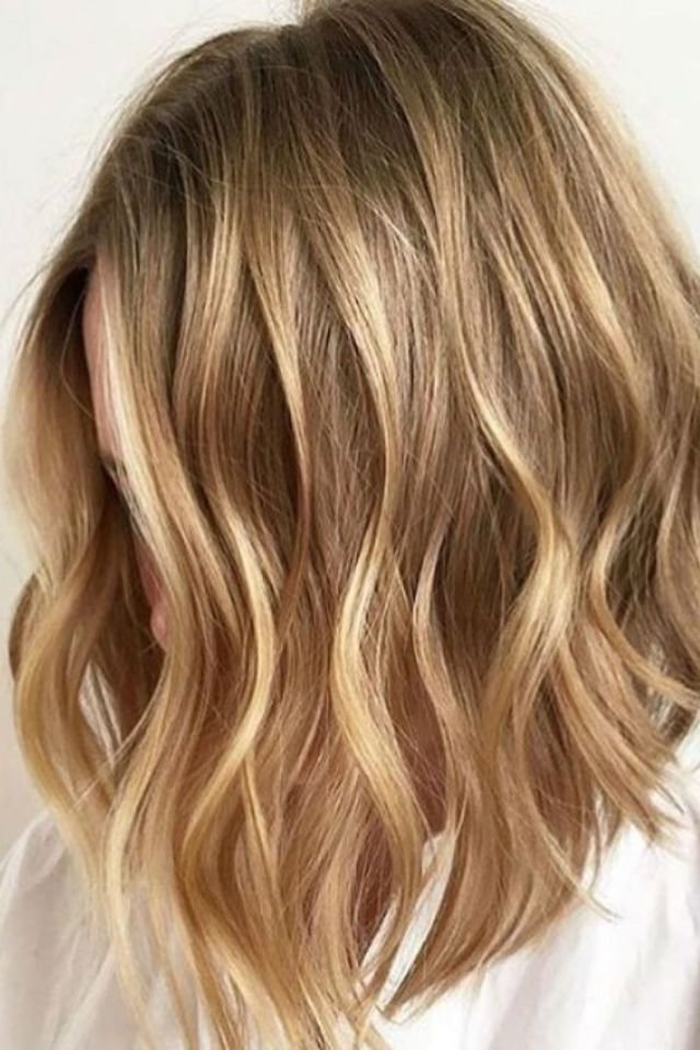 Free 36 Blonde Balayage With Caramel Honey Copper Highlights Wallpaper
