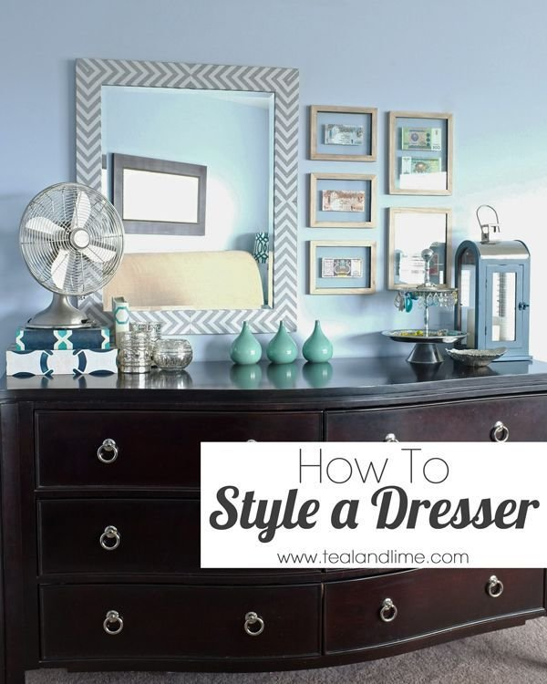 Best How To Style A Dresser For The Home Low Dresser Home Bedroom Home Decor With Pictures