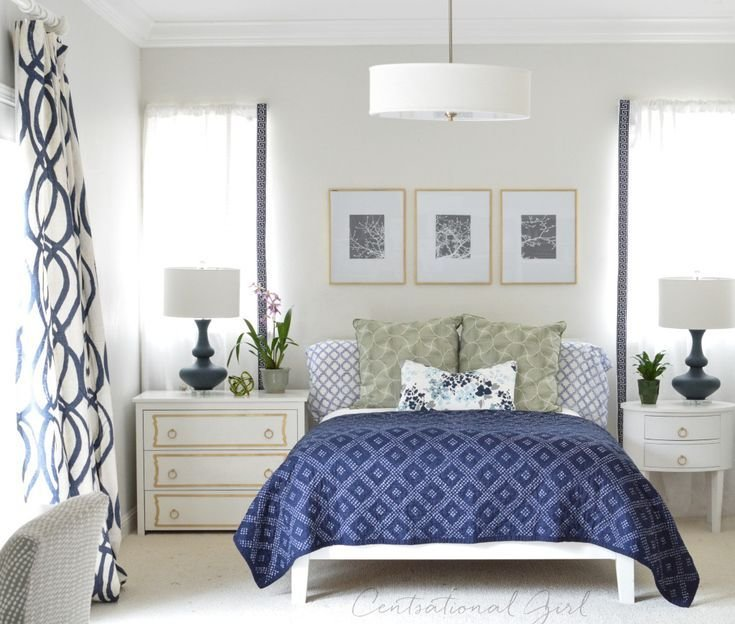 Best 25 Navy White Bedrooms Ideas Only On Pinterest Navy And White Rug Orange Master Bedroom With Pictures