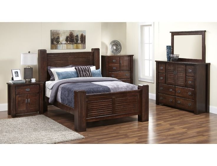 Best Slumberland Trestlewood Collection Pine 5 Pc Room With Pictures