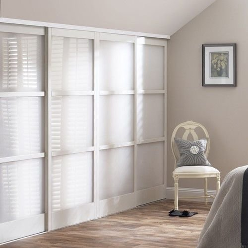 Best Mirrored Closet Doors With Wood Inlay Glass Sliding With Pictures