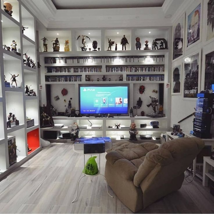 Best Great Gamer Room How Many Points Do You Give To This Room Sala De Juegos En 2019 Pinterest With Pictures