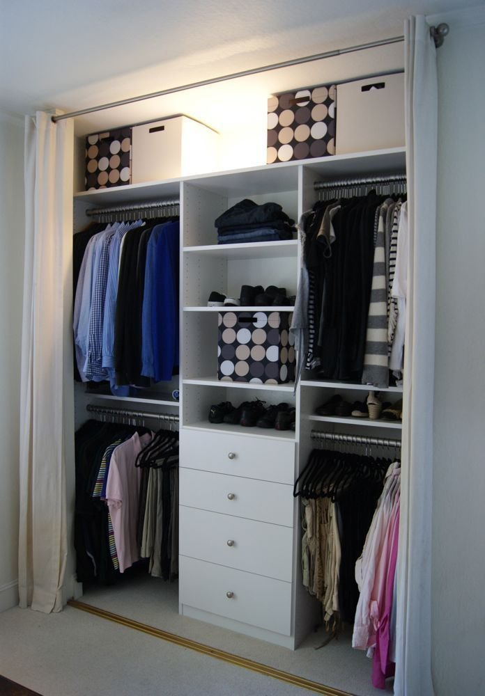 Best Custom Organized Master Closet Bedrooms Organizations With Pictures