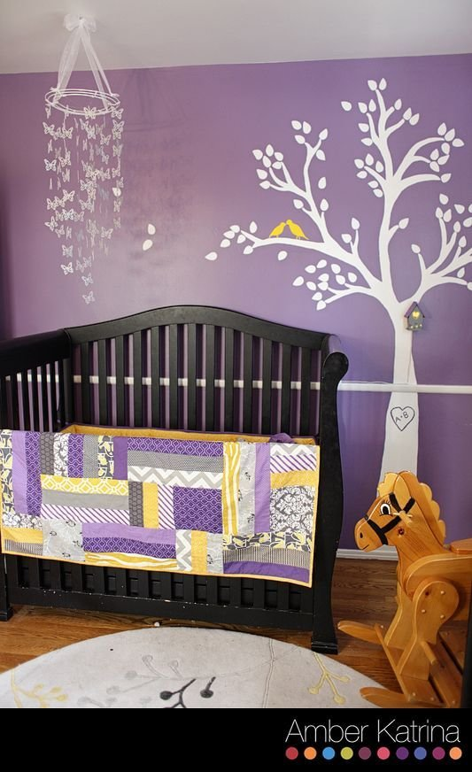 Best 324 Best Purple Room Images On Pinterest Child Room With Pictures
