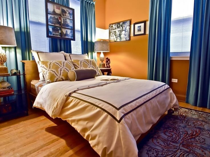 Best 25 Orange Bedroom Curtains Ideas On Pinterest With Pictures