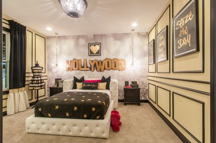 Best Wonderful Hollywood Themed Bedroom Tween T**N Girl S With Pictures