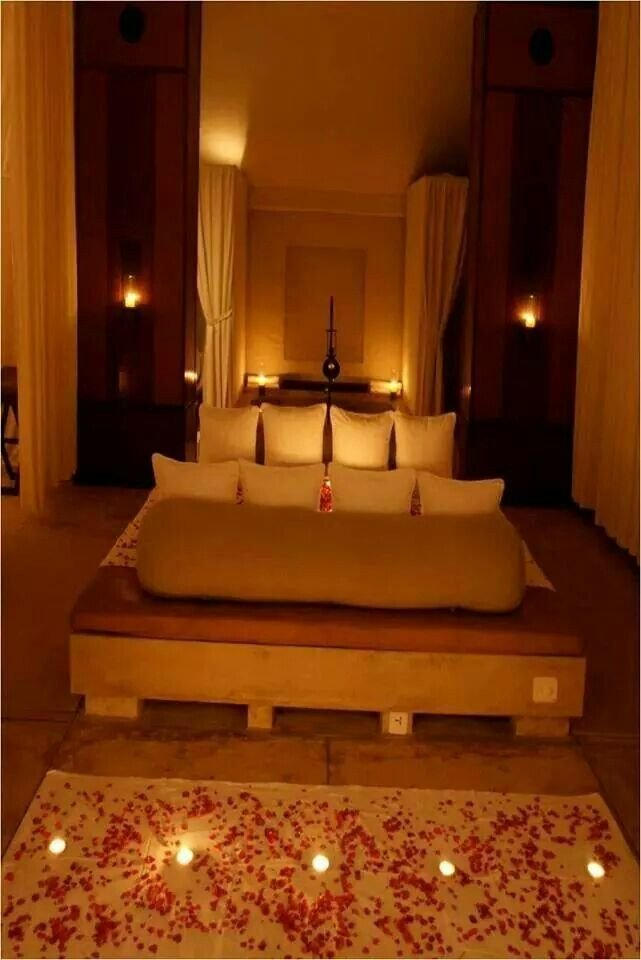 Best 18 Best Romantic Bedroom Ideas For Wedding Night Images On With Pictures