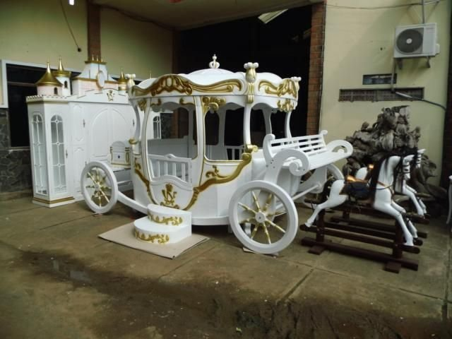 Best Pumpkin Bed Inspired By Cinderella Princess Carriage Bed With Pictures