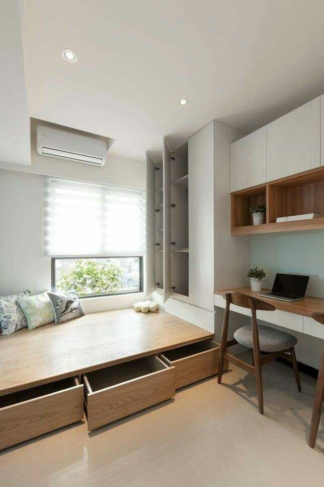 Best Raised Platform For More Storage Space Design Small With Pictures