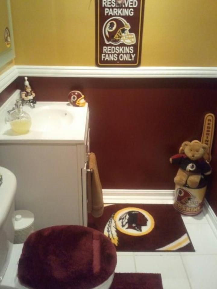 Best 14 Best Washington Redskins Rooms Wo Man Caves Images With Pictures