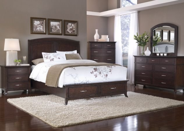 Best Paint Colors With Dark Wood Furniture Home Bedroom With Pictures