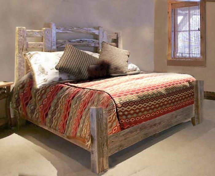 Best Rustic Western Style Beds Custom Handmade Bedroom With Pictures