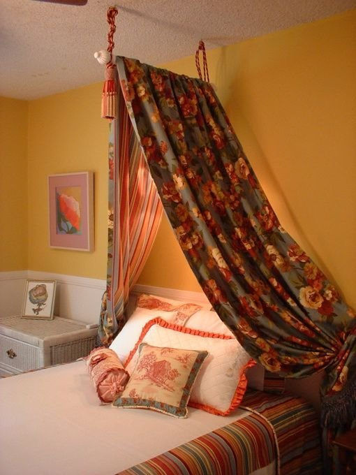Best 25 Curtain Rod Canopy Ideas On Pinterest Curtains With Pictures