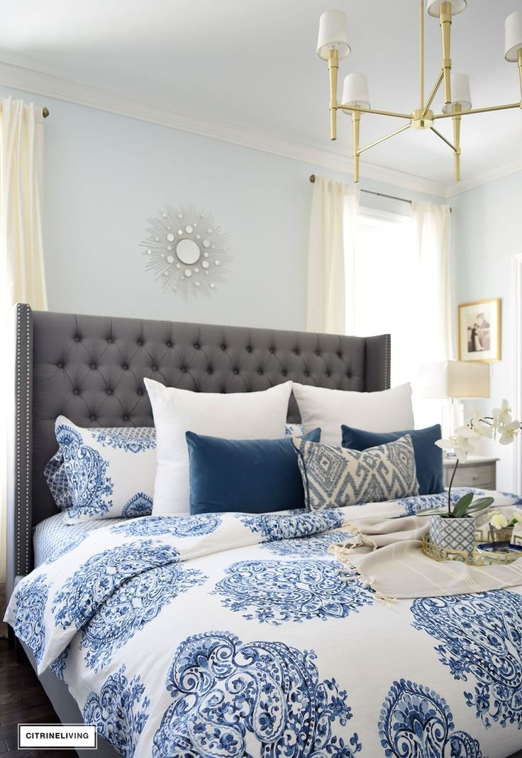 Best 25 Blue And White Bedding Ideas On Pinterest With Pictures