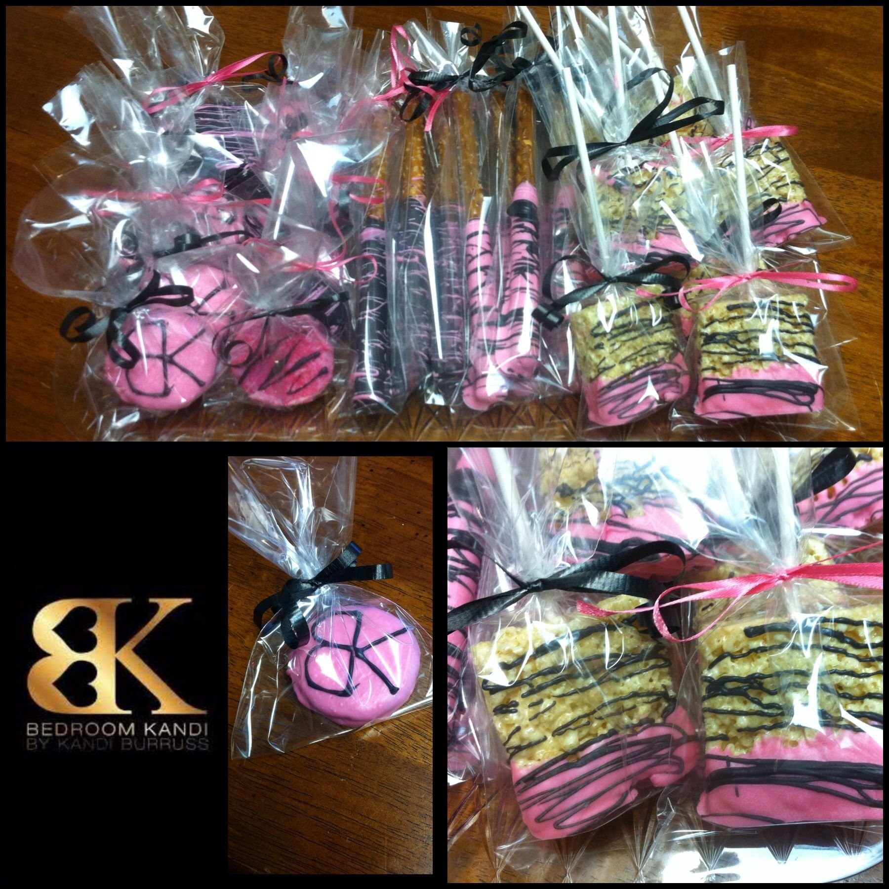 Best Chocolate Covered Pretzels Rice Crispy Treats And Oreos Pink And Black Bedroom Kandi Party With Pictures