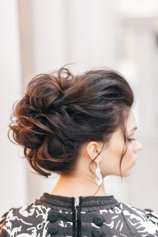 Free 10 Pretty Messy Updos For Long Hair Updo Hairstyles 2019 Wallpaper
