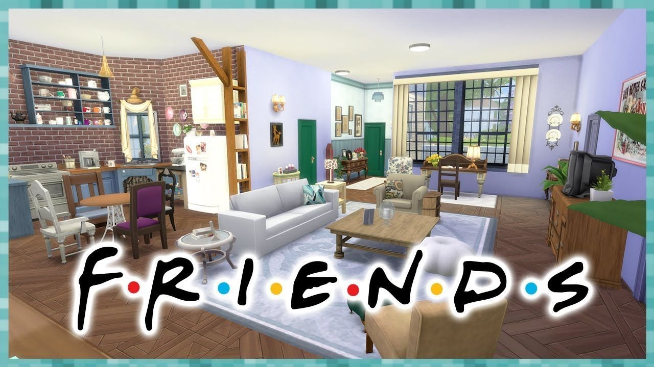 Best The Sims 4 Apê Monica Rachel F R I E N D S House With Pictures
