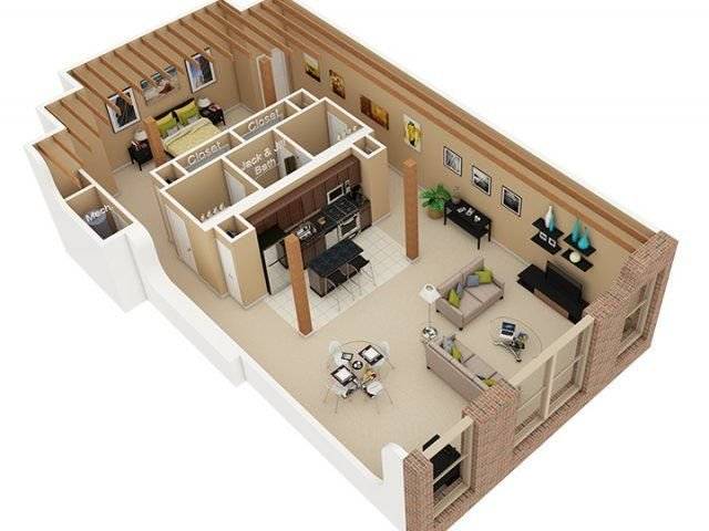 Best 1 Bedroom 1 5 Bath Floor Plan Of Property Cobbler Square With Pictures