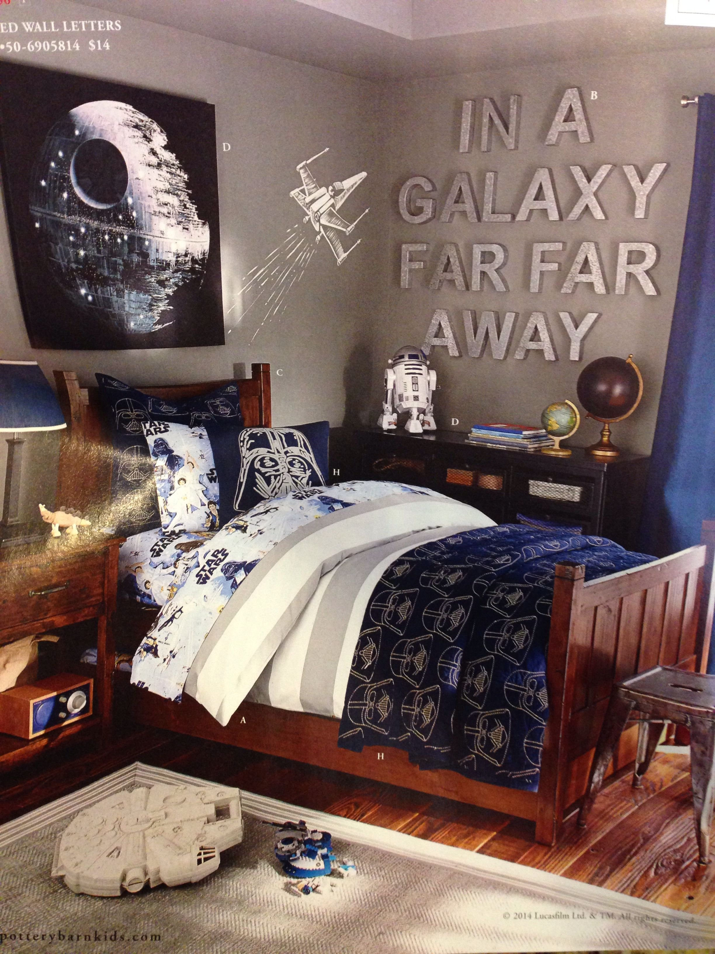Best Boys Star Wars Room Pottery Barn Kids Jt Like The Wall With Pictures