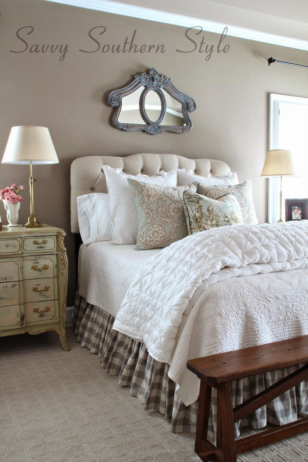 Best Adding French Farmhouse Style In The Master Fabulously With Pictures