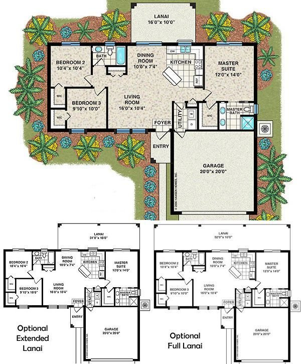 Best Affordable House Plans 3 Bedroom Bayshore Home Plan 3 With Pictures