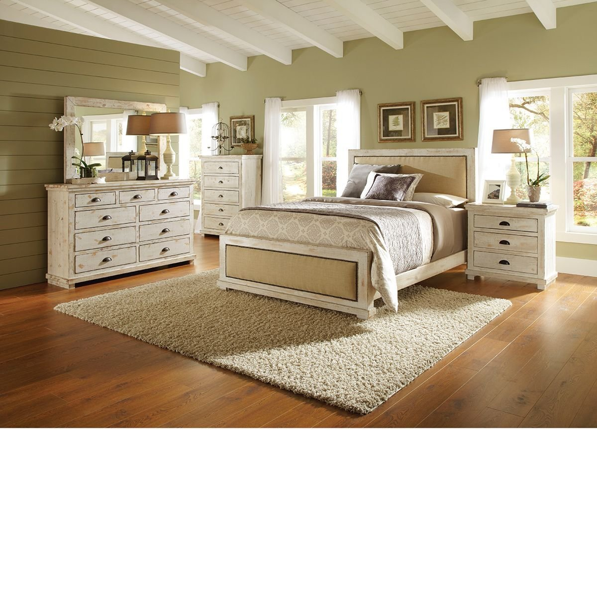 Best The Dump Furniture Willow White Master Distressed With Pictures