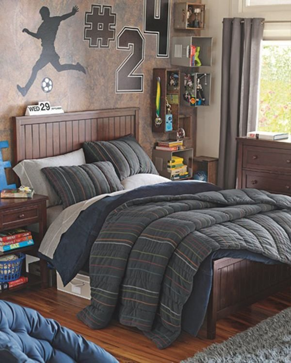Best Cool Kids Football Bedroom Ideas Boys Room Design With Pictures