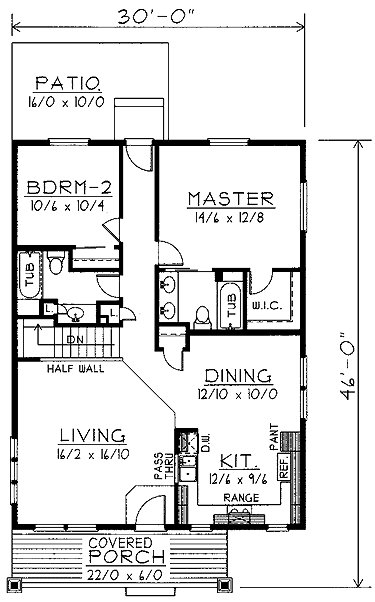 Best Home Plans Homepw74380 1 200 Square Feet 2 Bedroom 2 Bathroom Home With 2 Garage Bays House With Pictures