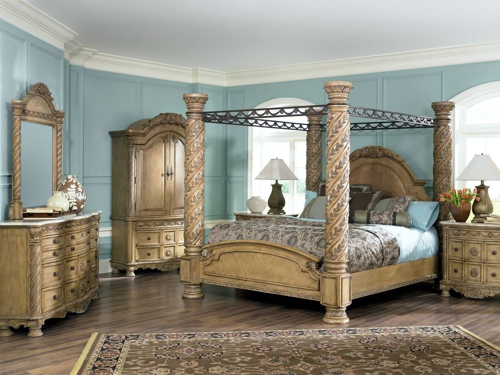 Best South Shore Bedroom Furniture Set In Glazed Bisque Finish With Pictures