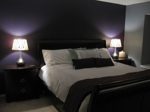 Best This Deep Purple Accent Wall Grey Walls Is Close To What I With Pictures
